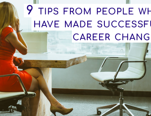9 tips from people who have made successful career changes